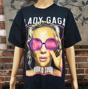 LADY GAGA World Tour 2017 Concert Tee Size Large